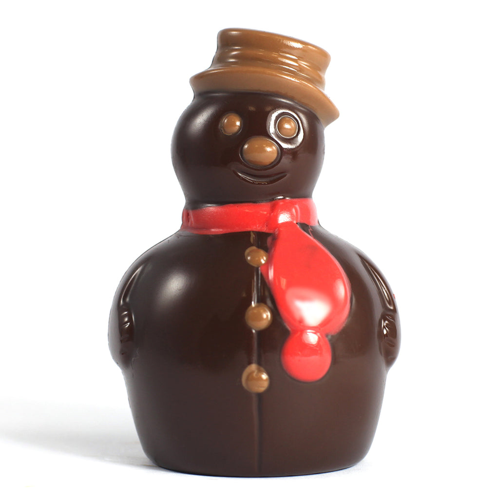 Dark Chocolate Snowman by Jacques Torres
