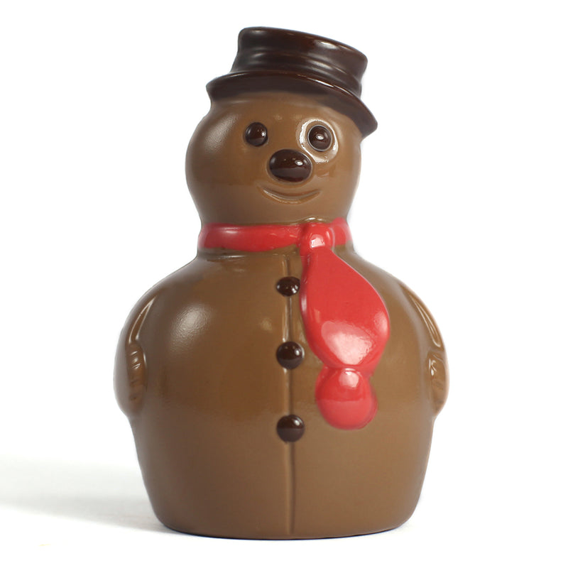 Milk Chocolate Snowman by Jacques Torres