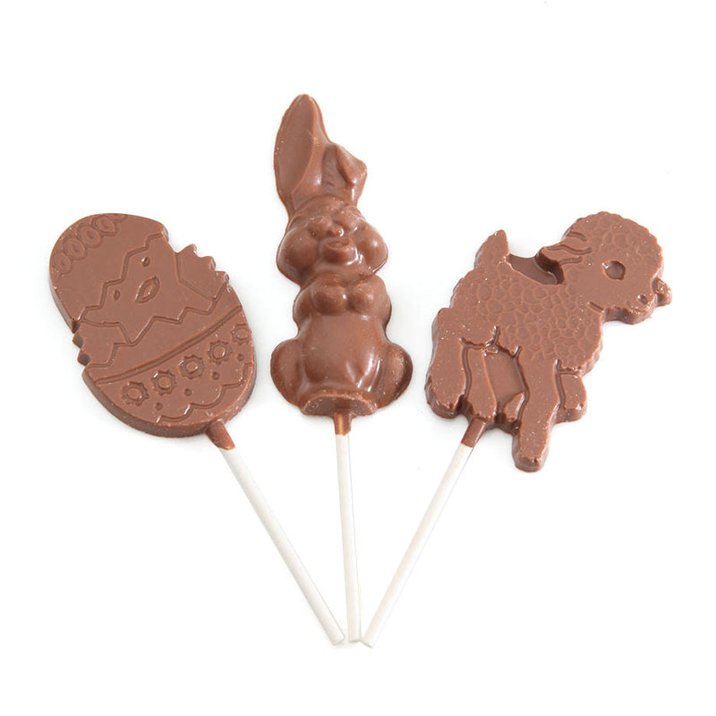 Milk Chocolate Easter Lollipops by Jacques Torres