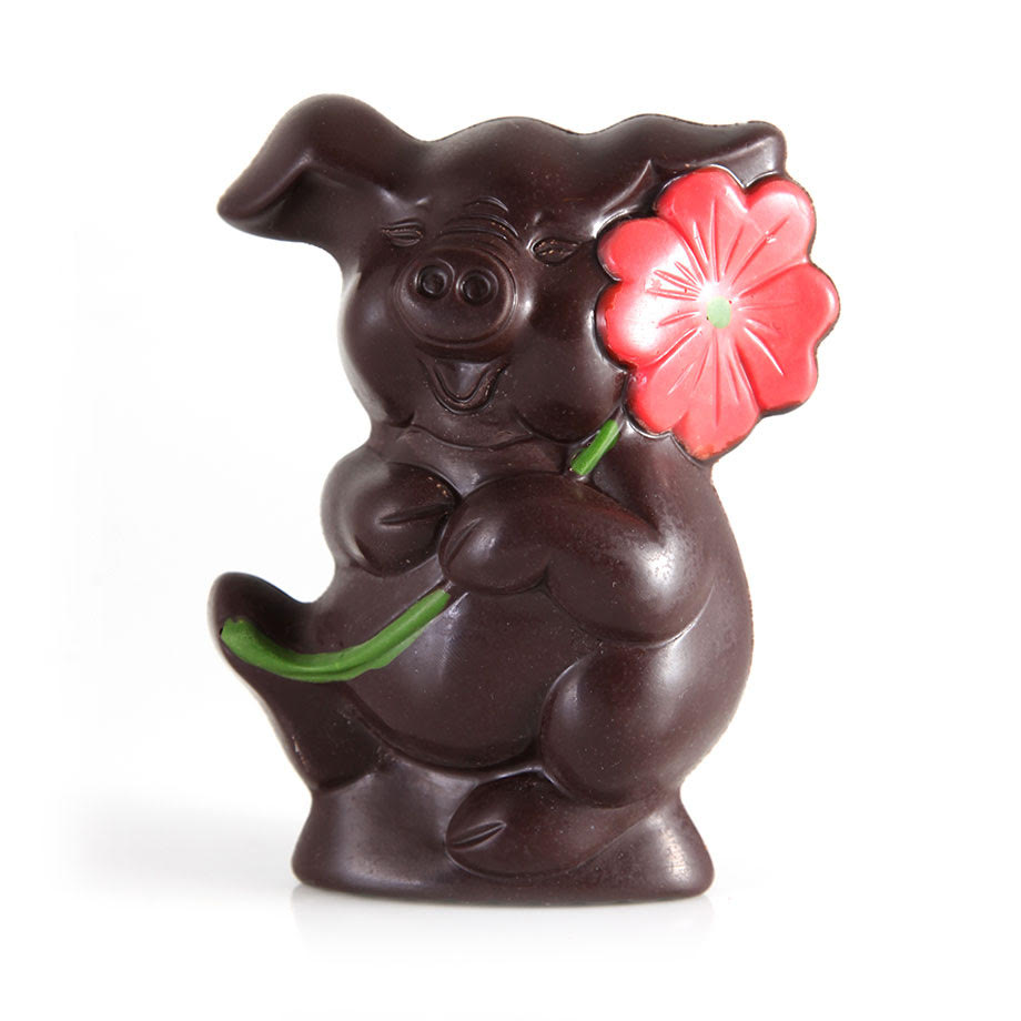 Dark Chocolate Easter Piglet