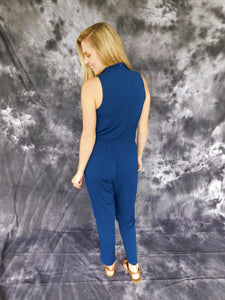 Choker Neck Jumpsuit