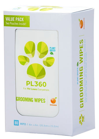 Pet Grooming Wipes by PL360