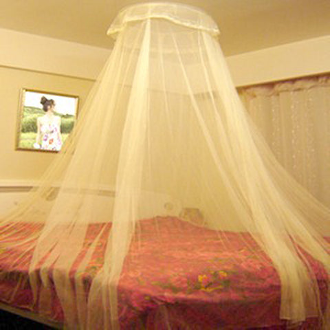 Dome Mosquito Nets Polyester Mesh Fabric
