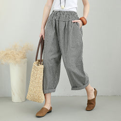 Woman Casual Cotton Linen Pants