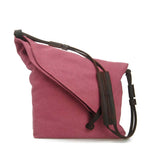 Alneed Casual Canvas Leather Crossbody Bag