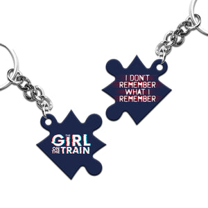 The Girl On the Train Keyring
