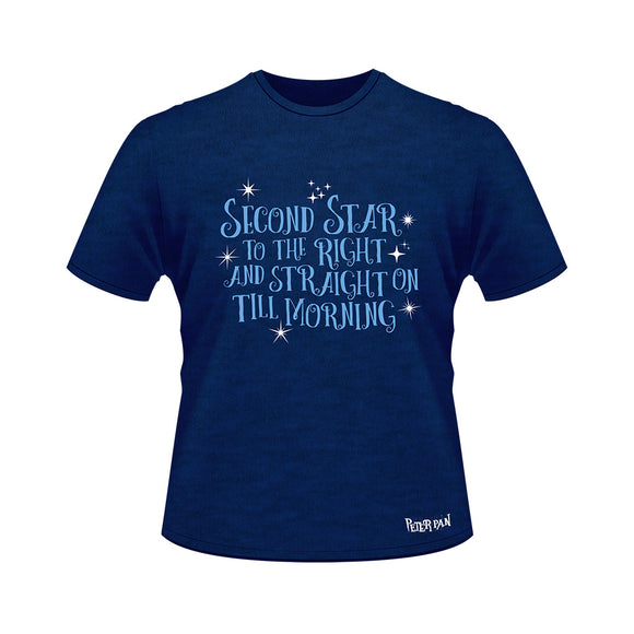Peter Pan Second Star Tee