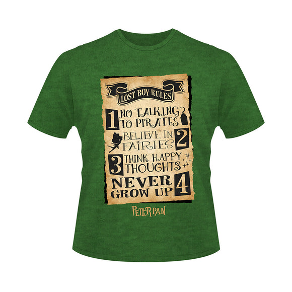 Peter Pan Lost Boys Rules Tee