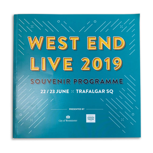 West End LIVE Souvenir Programme