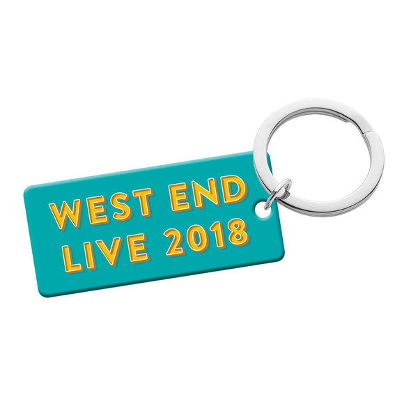 West End LIVE Keyring