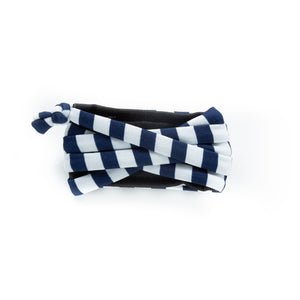 Navy & White Stripe Bandit