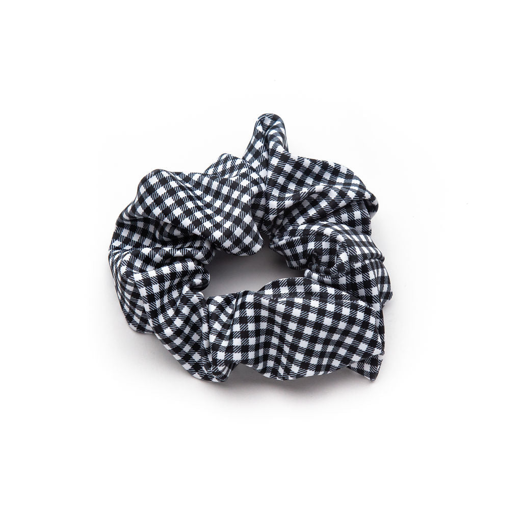 Black + White Gingham Bunchie