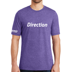 District Made Mens Perfect Tri Crew Tee - Direction