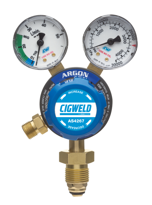 WeldSkill Argon Regulator VI 40LPM