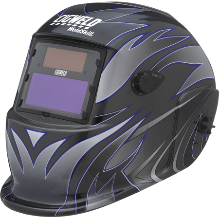 WeldSkill Auto-Darkening Helmet – Tribal