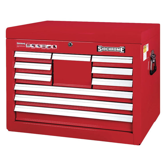 Sidchrome 10 Drawer Extra Deep Tool Chest