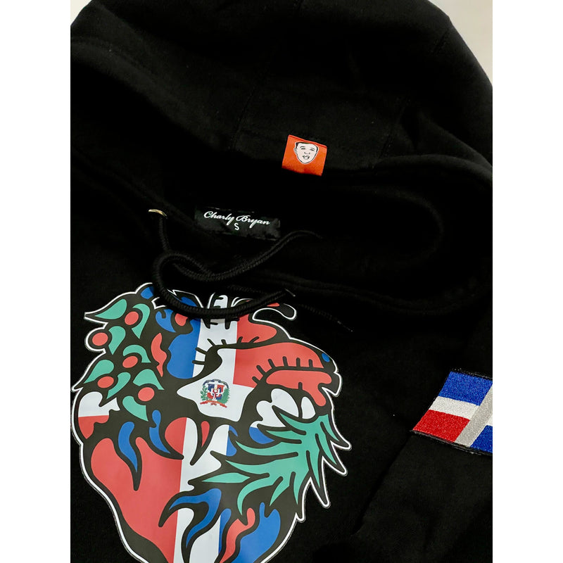 "Charly Bryan ""Dominican Heart"" Hoodie - (2021 Version - Free Shipping)"