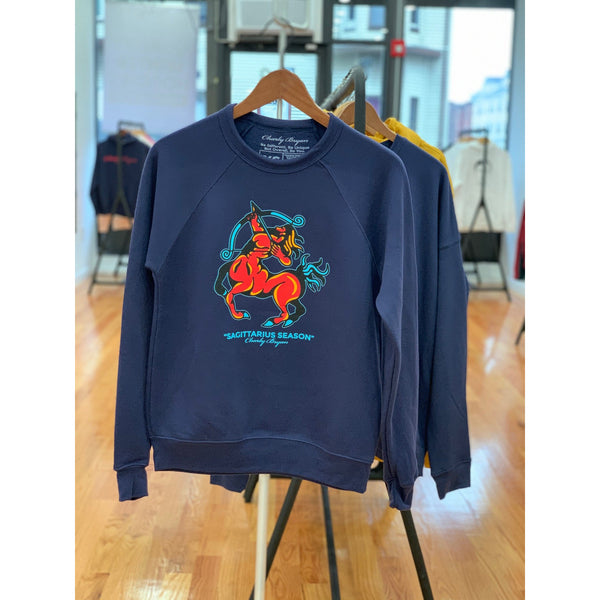 Sagittarius Season Super Soft Crewneck