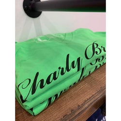 Charly Bryan Logo V-Neck T Shirts
