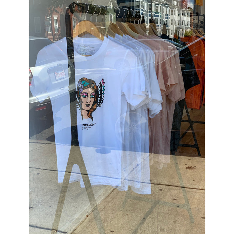 Charly Bryan Virgo Season Sueded Cotton T Shirts