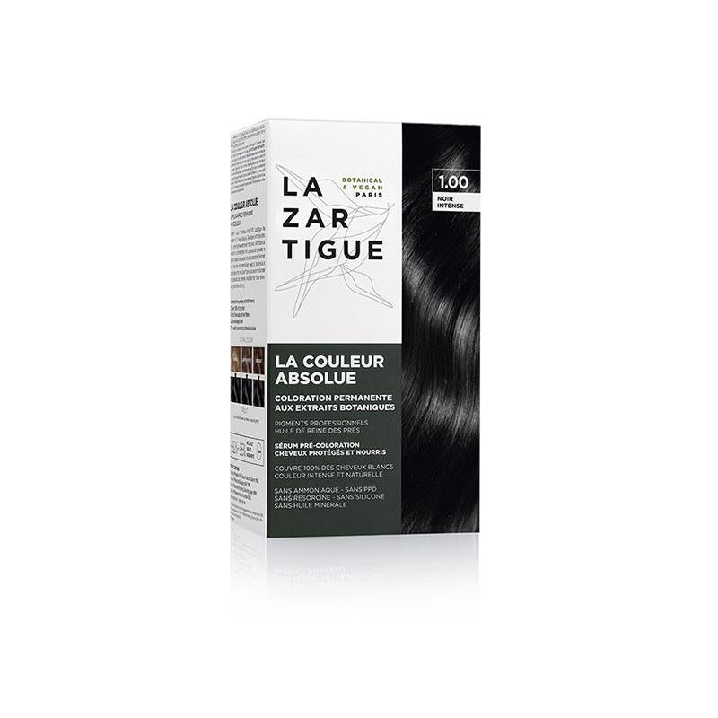 Permanent Haircolour with Botanical Extracts 1.0 Intense Black