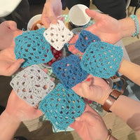 Private group crochet baby shower