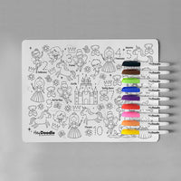 Hey Doodle reusable colour-in silicone placemat