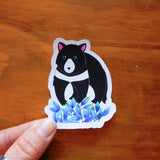 Tasmanian animal sticker set