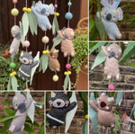 Australiana baby mobile (custom order)