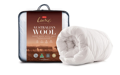 Tontine Luxe Australian Washable Wool Quilt - Super Warm