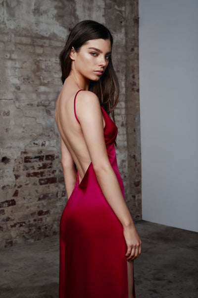 Lexi Akasa Dress - Raspberry