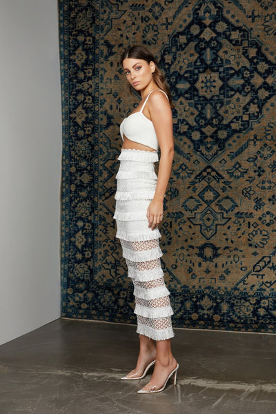 Lexi Mina Dress - White