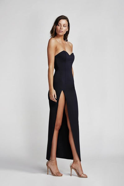 Lexi Adelina Dress - Navy