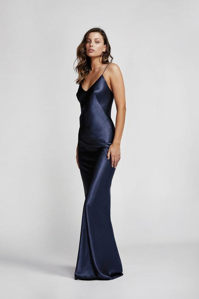 Lexi Camila Dress - Navy