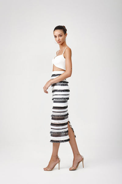 Lexi Rozela Dress - Black/White