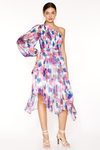 Talulah Always You Midi Dress - Floral Fantasia