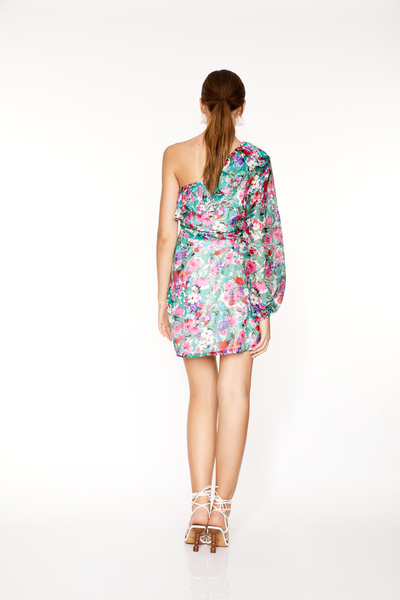 Talulah Better Together Mini Dress - Botanical Bloom