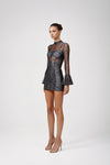 Lexi Riva Dress - Silver