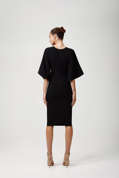 Lexi Rema Dress - Black