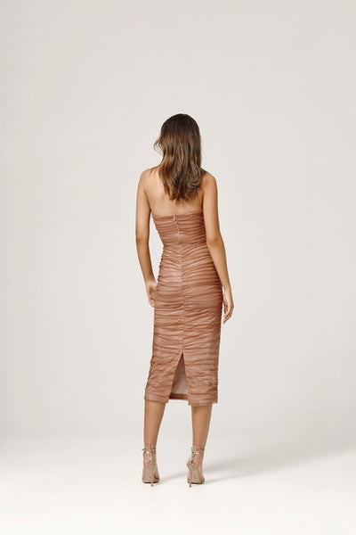 Lexi Courtney Dress - Rose Gold