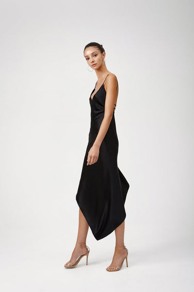 Lexi Cerise Dress - Black