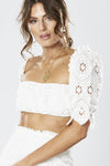 Winona Splendour Top - White