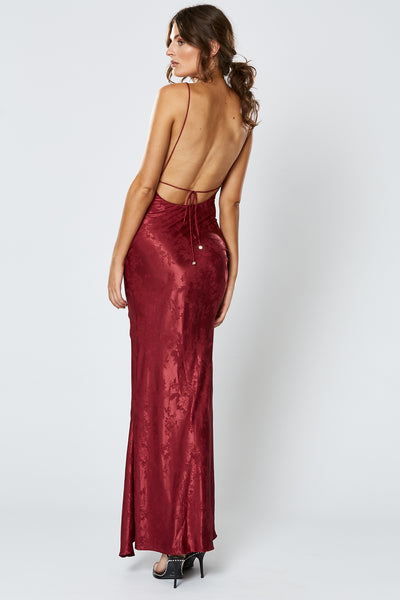 Winona Kensington Maxi Dress - Wine