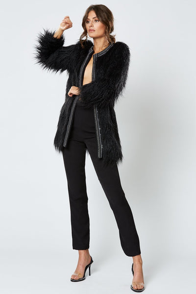 Winona Duchess Coat - Black