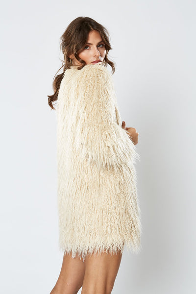 Winona Duchess Coat - Latte