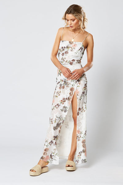 Winona Hummingbird Maxi Dress - Floral