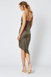 Winona Britannia Asymmetrical Dress - Olive