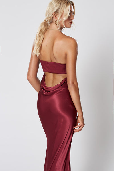 Winona Veda Maxi Dress - Wine