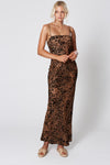 Winona Lynx Maxi Dress - Leopard