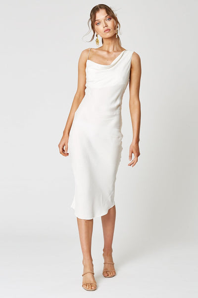 Winona Nevada Asymmetrical Dress - White